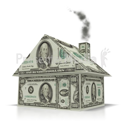 Money House  Presentation clipart
