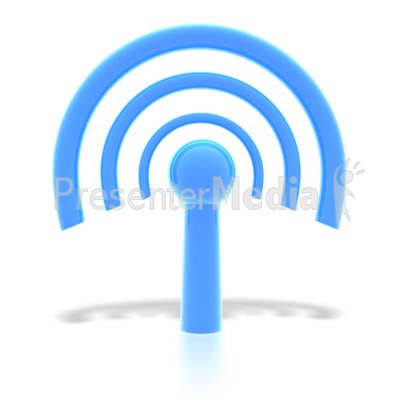 wifi wireless internet symbol  Presentation clipart