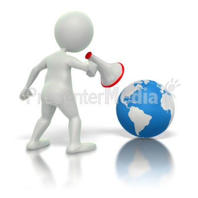 Yelling At Earth  Presentation clipart