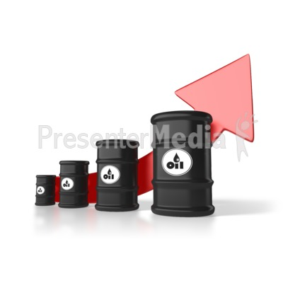 Rising Cost Of Oil Presentation clipart