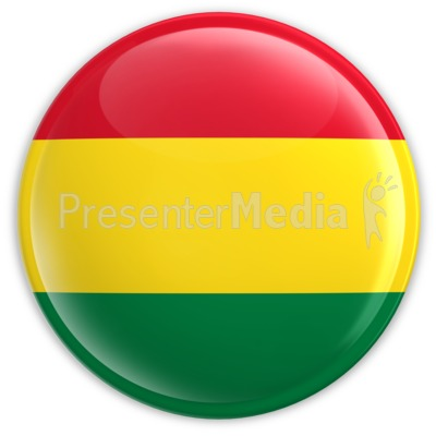 Badge of the Bolivian Flag Presentation clipart