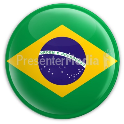Badge of the Brazilian Flag Presentation clipart