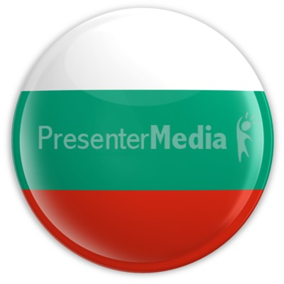 Badge of the Bulgarian Flag Presentation clipart