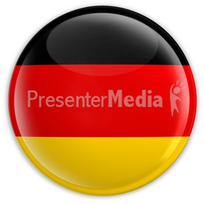 Badge of the German Flag Presentation clipart