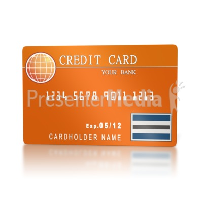 Banking Credit Card  Presentation clipart