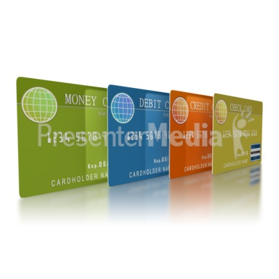 Banking Cards Presentation clipart
