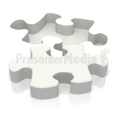 Ground Puzzle Piece  Presentation clipart