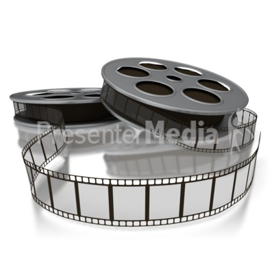 Movie Film Reels Presentation clipart