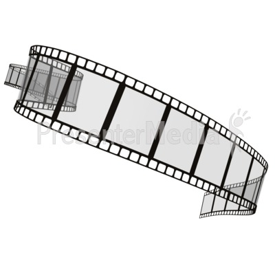 Film Strip Presentation clipart
