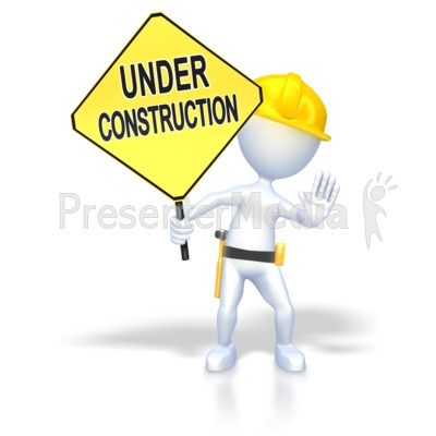 Under Construction  Presentation clipart