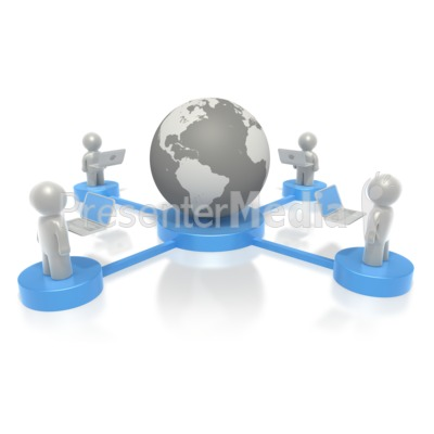 Platform Connection  Presentation clipart