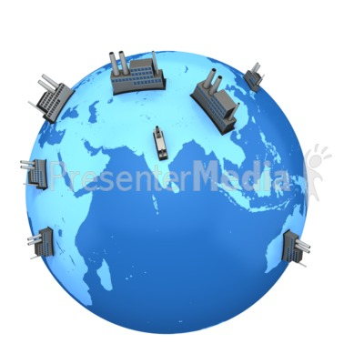 Eastern World Factories Presentation clipart