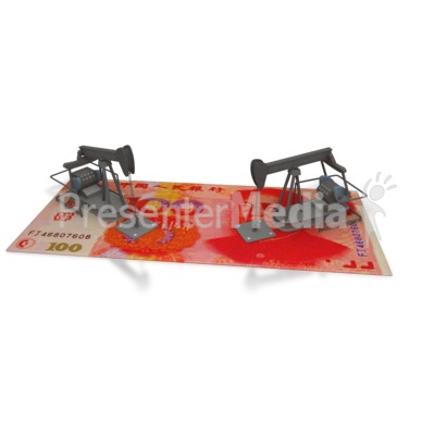 Oil Money China  Presentation clipart