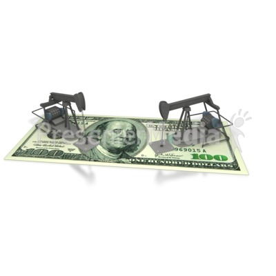 Oil Money America Presentation clipart