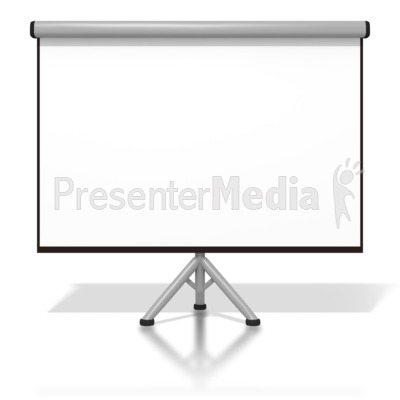 Projector Screen Presentation clipart