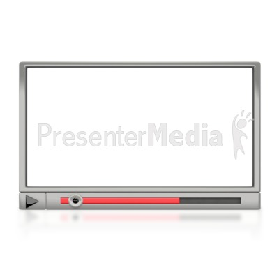 Media Player Window Presentation clipart