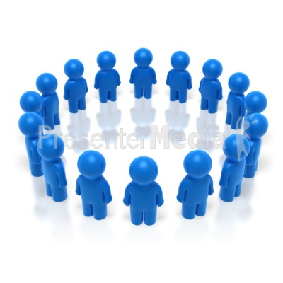Group Circle  Presentation clipart