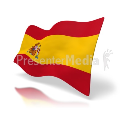 Flag Of Spain Presentation clipart