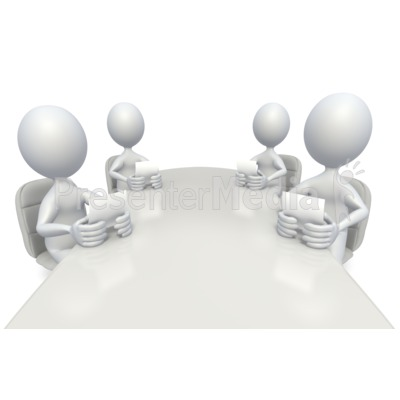 Conference Room Meeting Presentation clipart