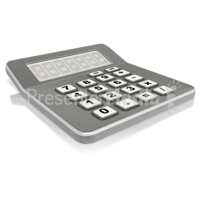 Financial Calculator  Presentation clipart