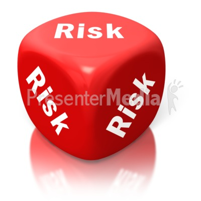 Risk Red Dice Presentation clipart
