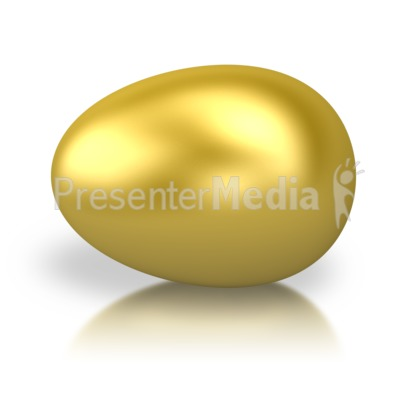 Golden Egg Presentation clipart