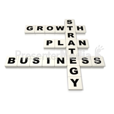 Business Plan Strategy  Presentation clipart