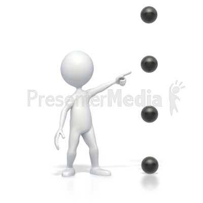 Bullet Point Point Medium High Presentation clipart