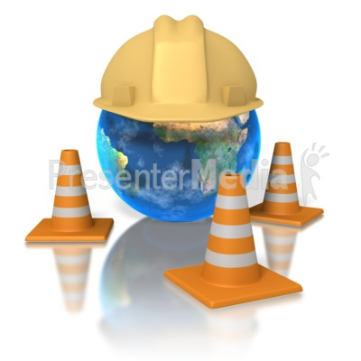 World Hardhat Presentation clipart