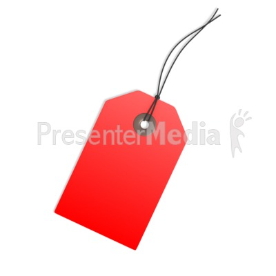 Red Price Tag Blank Signs And Symbols Great Clipart For