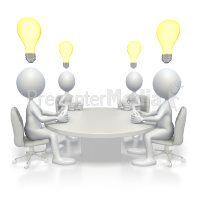 Conference Idea Presentation clipart