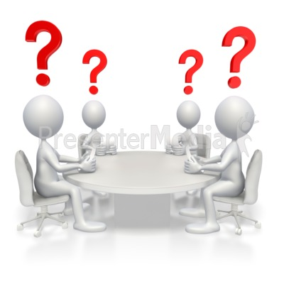 Conference Questions Presentation clipart
