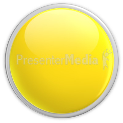 Badge Blank Button Yellow Presentation clipart