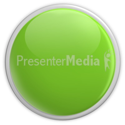 Badge Blank Button Green Presentation clipart