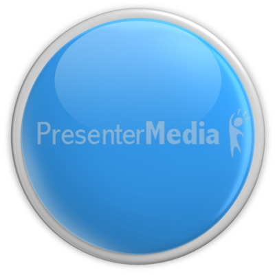 Badge Blank Button Blue Presentation clipart