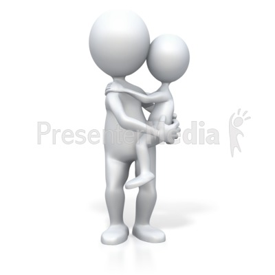 Parent Child Portrait Presentation clipart