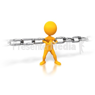 Strong Chain Link Presentation clipart