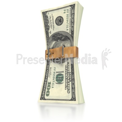 Money Squeeze  Presentation clipart