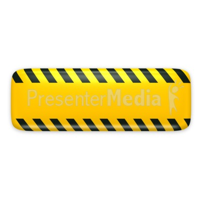 Yellow Bar Caution Construction Presentation clipart