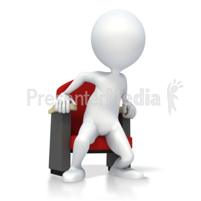On the Edge of Your Seat Presentation clipart
