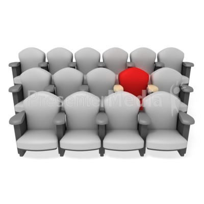 Best Seat in the House Presentation clipart