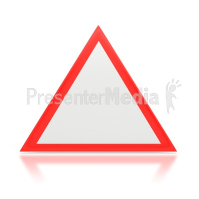 Hazard Sign Presentation clipart