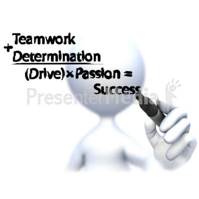 Drawing Business Formula  Presentation clipart