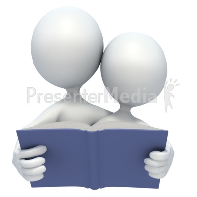 Read Together Presentation clipart