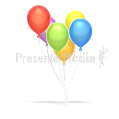 Party Balloons  Presentation clipart