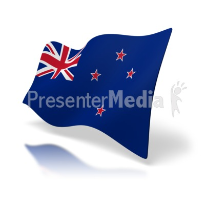 Flag Of New Zealand Presentation clipart