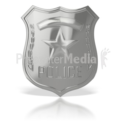 Police Badge  Presentation clipart