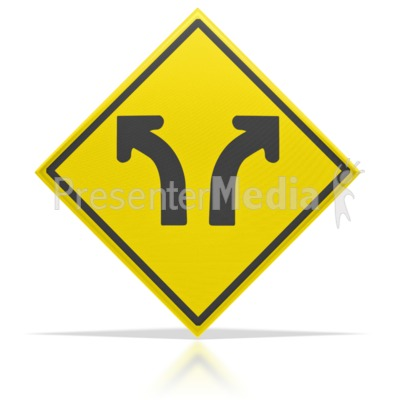 Direction Arrow Sign  Presentation clipart