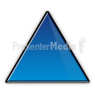 Triangle Flow Chart Symbol Presentation clipart