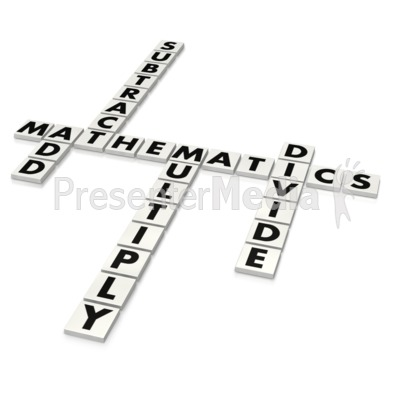 Mathematics Puzzle  Presentation clipart